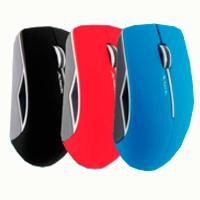 MOUSE  ACTECK INALAMBRICO USB COLOR ROJO, AC-91654